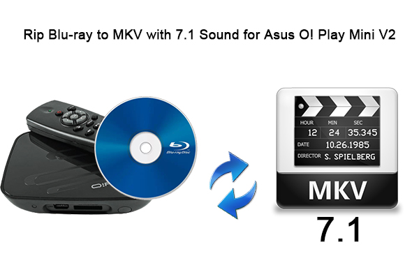 Rip Blu-ray to MKV with 7 1 Sound for Asus O! Play Mini V2
