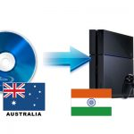 Make an Australia Blu-ray Region-free for PS4 in India