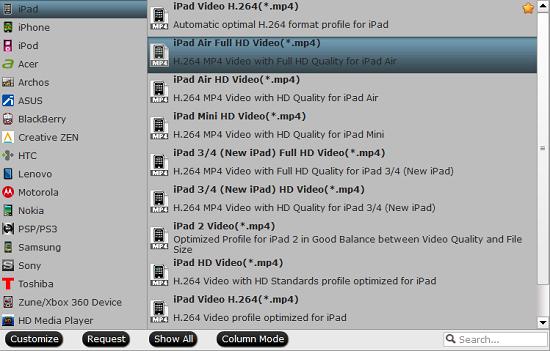 ipad format How to Watch or Share Hockey Videos on iPad/iPhone/YouTube/Vimeo