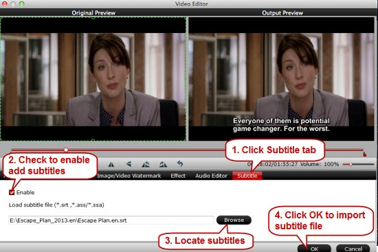 Video Converting, Editing & Tips: How to Add Subtitle to