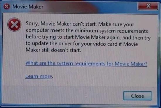 windows movie maker fail to start How to Fix Error Message Pops up in Windows Movie Maker
