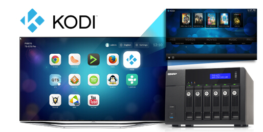 Kodi Supported QNAP NAS | Love Media Players