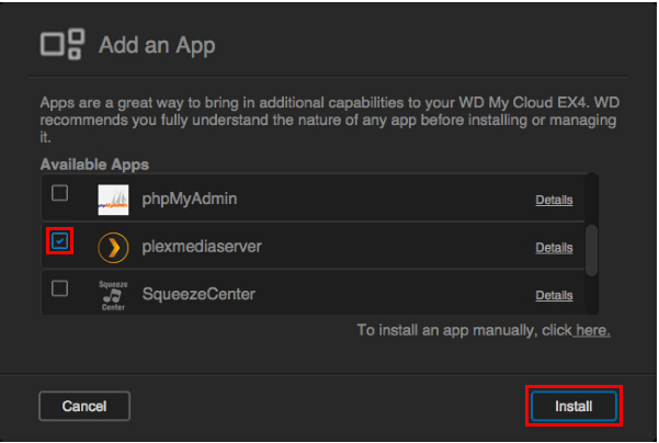 How to Stream Blu-ray with Plex via My Cloud EX4?
