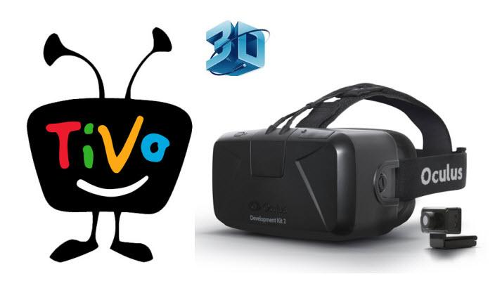 3D Tivo to Oculus Rift