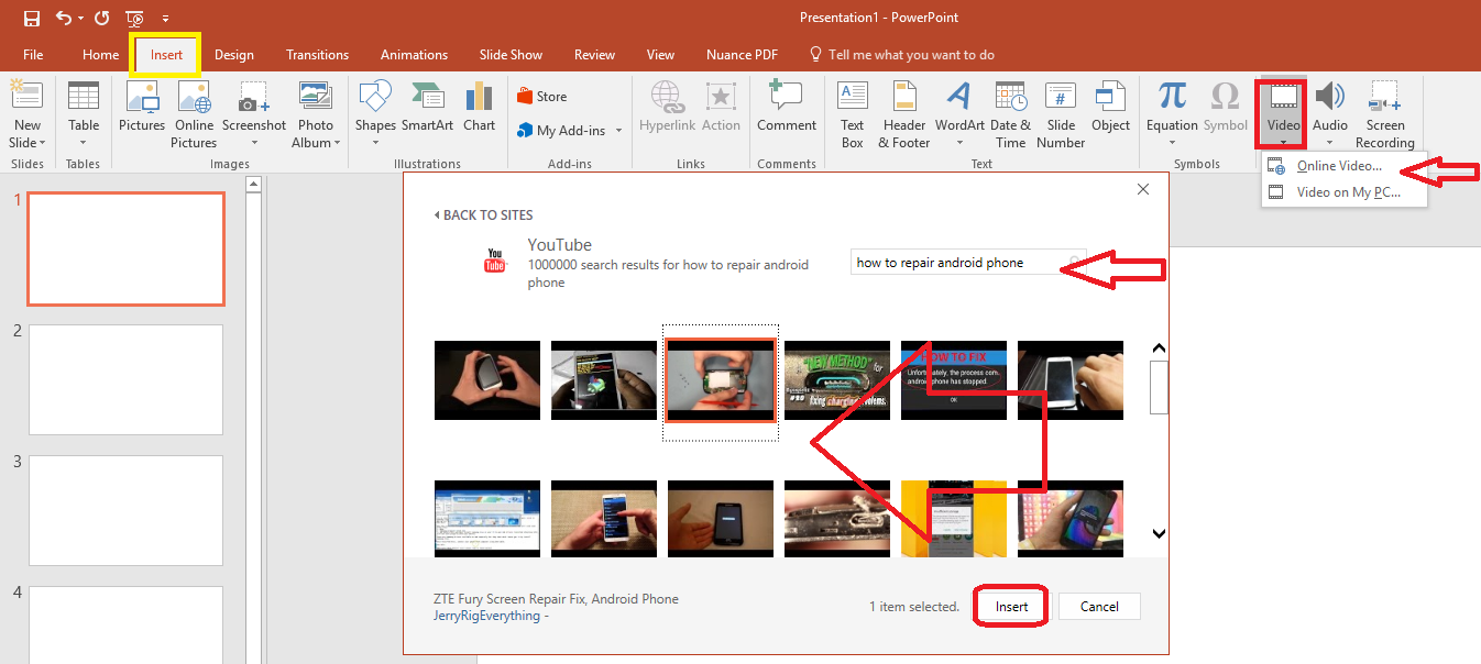 Insert Youtube Video Into Powerpoint 2007 For Mac