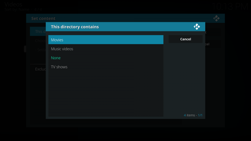add video to kodi