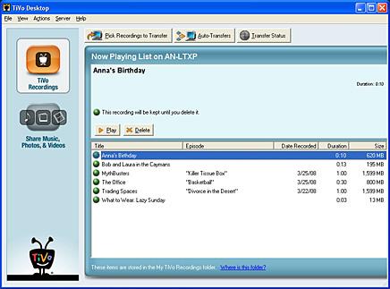 Tivo desktop plus